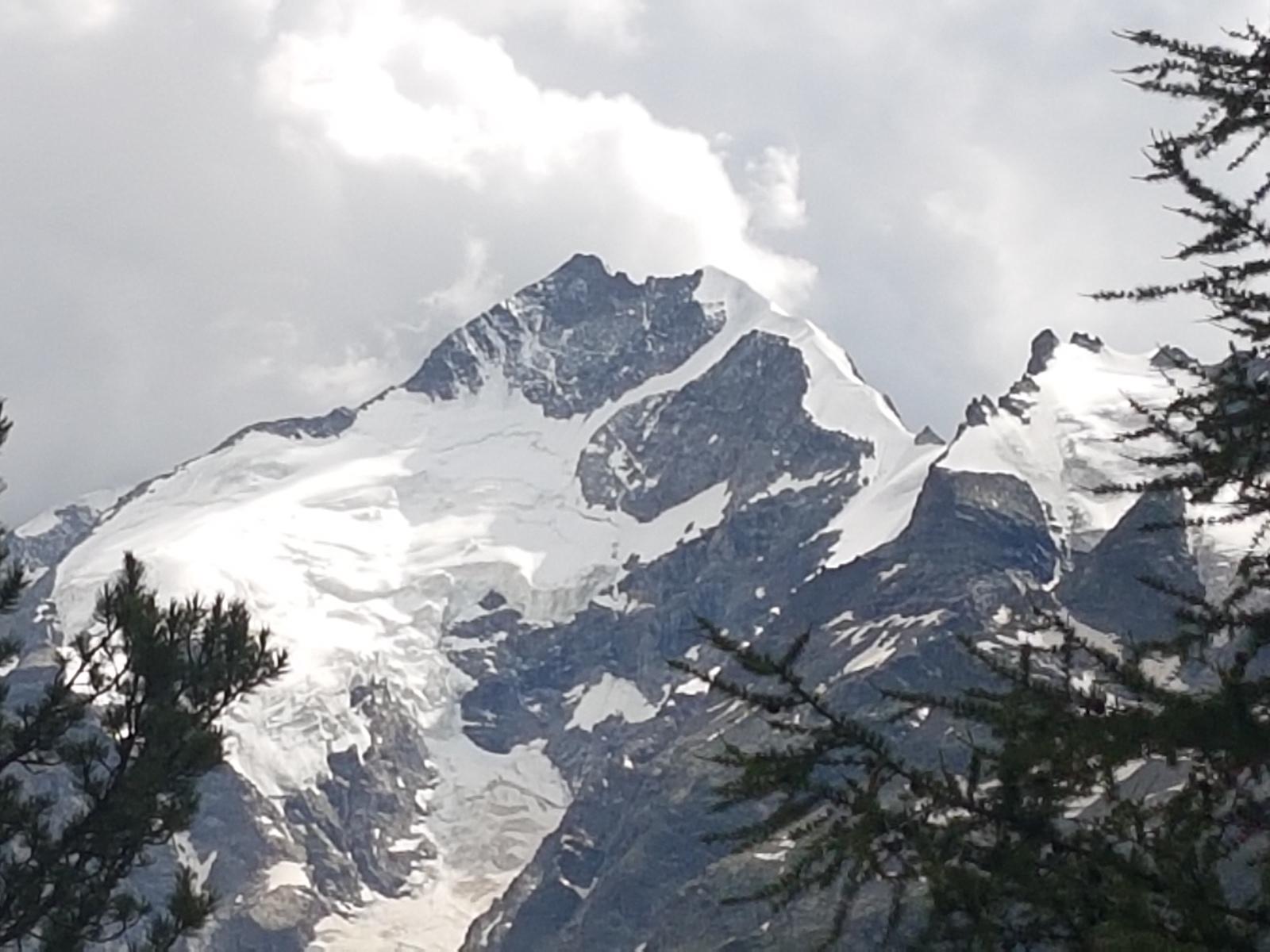 pizzo Bernina m 4.049 cresta Biancograt  e Palù