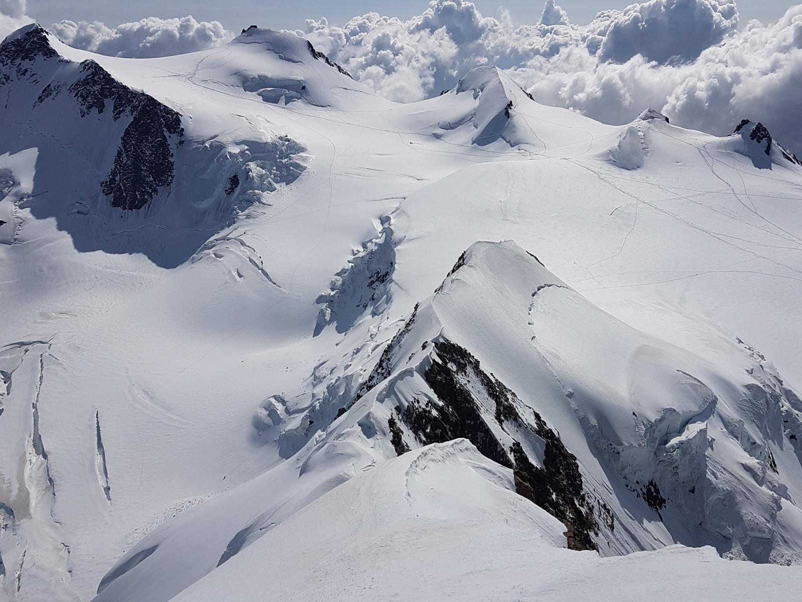 Corso alta montagna avanzato al monte Rosa