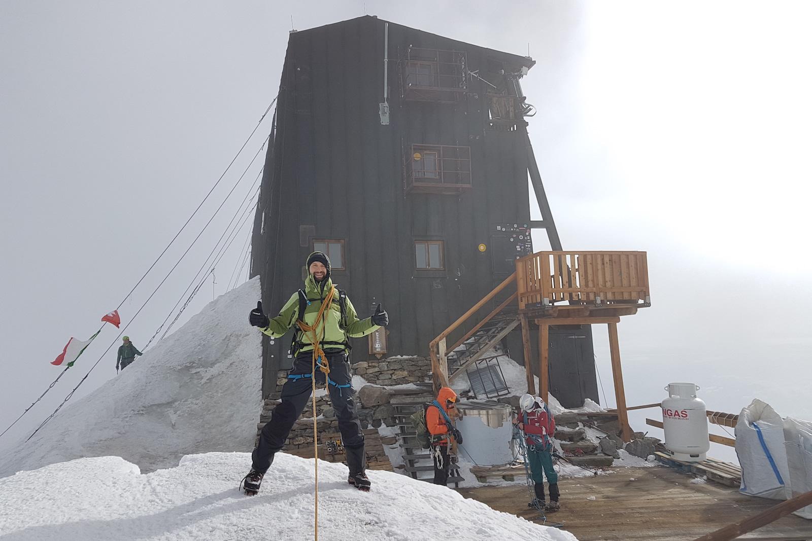 Stage Alta Montagna al Monte Rosa