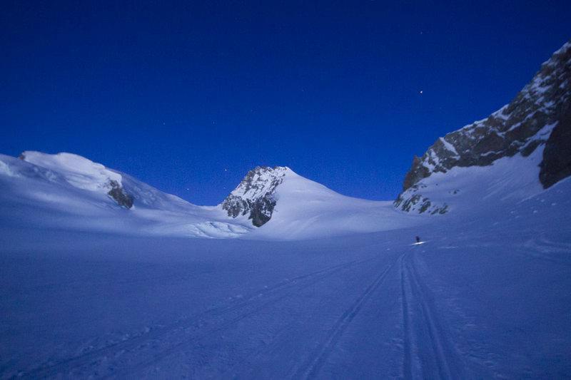 Sci Alpinismo Svizzero da Sass Fee